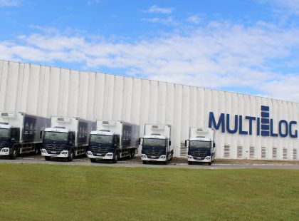 Multilog buys 5 new trucks to meet transport demand in Viracopos